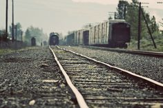 There is something about railroads that make me think life is endless