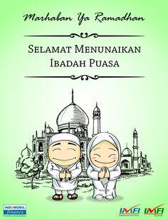 Bedug ditabuh menandakan datangnya Bulan Ramadhan Selamat berpuasa Sahabat IMFI =) #Ramadhan #puasa #selamatberpuasa