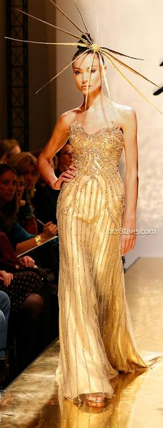 Older Favorites from Fausto Sarli Couture - Fausto Sarli Couture - Spring Summer 2007