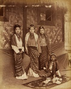album of photographs of burma. Modern History, Natural History, Old Photos, Vintage Photos, Burma Myanmar, Vintage Book Covers, Burmese, Dress Picture, Vintage Costumes