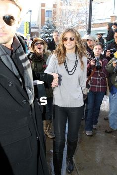 AnnaLynne McCord had a full day at the Sundance Film Festival in Park City. The actress was seen stepping out with her boyfriend Dominic Purcell in the morning then the star heated up the red carpet at night.