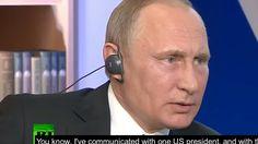 "Vladimir Putin: ""Men in Dark Suits rule the world."" #MeninBlack"