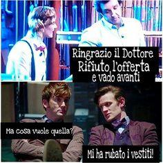 #10doctor#11doctor#rosetyler#affarituoi#pacchi#funny#doctorwho#italia