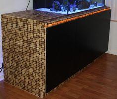 tile stand Aquarium Stand, Show Me Your, Outdoor Furniture, Outdoor Decor, Outdoor Storage, Tile, Fancy, Home Decor, Mosaics