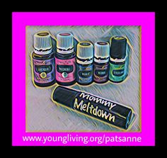"We all have those moments when we need a little extra sanity to get us through the day!  Young Living Essential oils are my go to. If you have questions about essential oils or need to order visit my website.   To make this ""Mommy Meltdown"" roller combine the following in a 10mL roller:  7 Vetiver 7 Patchouli 15 Valor or Valor II 15 Stress Away 25 Lavender Fill rest with carrier oil of your choice. I like fractionated coconut oil"