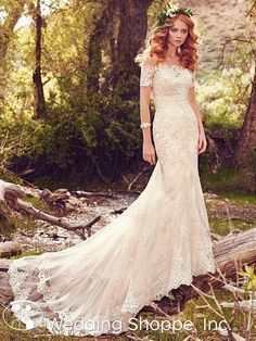 Maggie Sottero Reynold | Lace Bridal Gown