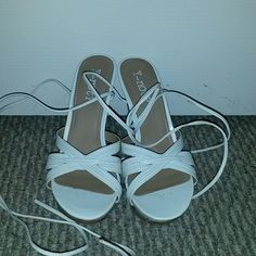 Shoes Strappy sandals with 3 inch heel Shoes Heels
