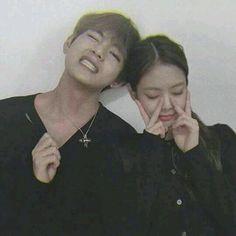 "Part of the blackpink x bts ""Baby"" portion # Fanfiction # amreading # books # wattpad Korean Couple, Best Couple, Kpop Couples, Cute Couples, V Taehyung, Bts Jungkook, K Pop, Taekook, Boy Band"
