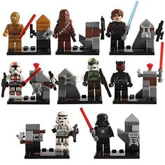 Gooband® 8pcs/Lot STAR WARS Clone Wars Soldiers Troopers Darth Vader Darth Maul Minifigures Figures Model Building Blocks Bricks Learning Educational Toys Gift for Children No original Box Decool
