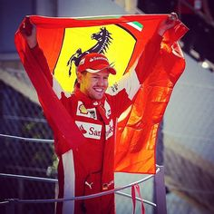 """The best second place I ever had."" #SebastianVettel #Ferrari #Monza #ItalianGP #F1 #Formula1 #GPItalia #ForzaF1 by f1"