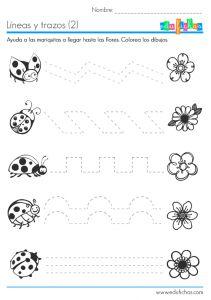 ejercicios de grafomotricidad para preescolar