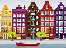 Middenin Amsterdam vind je deze bijzondere overnachtingsmogelijkheid. Het is geen Bed & Breakfast, maar een Bed & Boot
