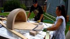 How to build your own pizza oven., via YouTube.