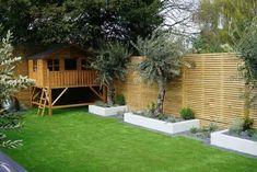 Simply Fences - Fast, Expert Fencing Installation in London Garden Fencing, Garden Trellis, Artificial Grass Ideas Small Gardens, Fence Prices, Fence Options, Privacy Fences, Garden Design, Home And Garden, Gardens