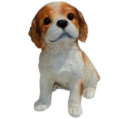 Cavalier King Charles Spaniel Puppy Statue