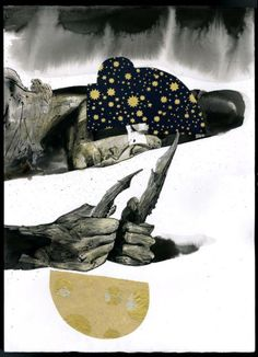 Dave McKean #illustration #drawing
