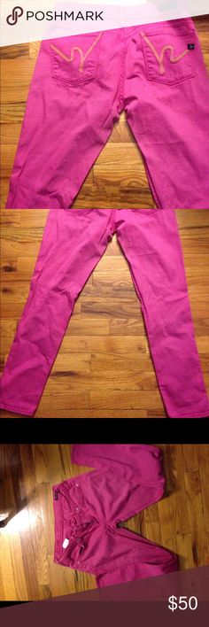 Citizens of humanity jeans Citizens of humanity jeans pink and yellow stitch logo. Ankle Citizens of Humanity Jeans Ankle & Cropped
