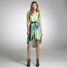 Electric Stripe Dress  KC