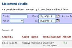 Here is my Withdrawal Proof from AdClickXpress. I get paid daily and I can withdraw daily. Online income is possible with ACX, who is definitely paying - no scam here. ACX is now paying 6% per day!!  Date: 19/08/2015 08:46 To Pay Procesor Perfect Money Account: U5301307 Payment ID: 69370  Amount: $4.8 Currency: USD Batch: 98639358 Memo: API Payment. Ad Click Xpress Withdraw #4404394-69370         Join here: http://www.adclickxpress.com/?r=opet  #ACX #AdClickXpress #MakeMoneyFromHome…