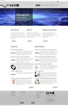 http://www.yesbilisim.com/ #webdesign #webtasarim #binteraktif