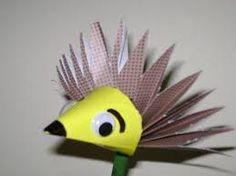 Znalezione obrazy dla zapytania paper hedgehog