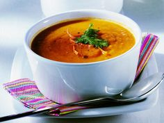 Velouté de carottes au curry au Thermomix - Cookomix