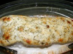 Easy, delicious and healthy Creamy Baked Halibut recipe from SparkRecipes. See our top-rated recipes for Creamy Baked Halibut. via Visit Websites For More. Seafood Dishes, Fish And Seafood, Seafood Recipes, Recipes Dinner, Dinner Ideas, Halibut Fishing, Cooking Light Recipes, Baked Salmon Recipes, Halibut Recipes Oven