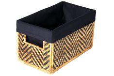Banana Panel Storage Box from Rwanda