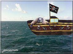 la mer et les pirates