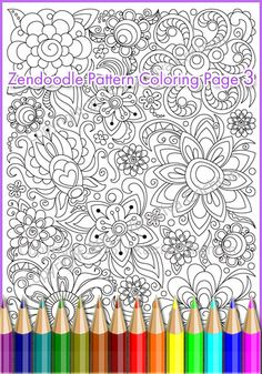 Adults and children Coloring page PDF printable by ZentangleHouse