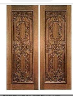 Front Doors With Windows, Iron Windows, Wooden Door Design, Front Door Design, Wooden Door Hangers, Wooden Doors, Latest Bed, Window Grill Design, Kb Homes