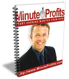 Minute Profits allows you to stark making money on the Internet 15 minutes from now - without any investment or advertising! All you have to do is click your mouse and go shopping!