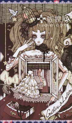 Gothic and Lolita Bible #37, art girl illustration,anime, manga