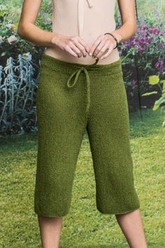 Crochet Pants, Knit Pants, Knit Shorts, Crochet Clothes, Knit Cardigan, Knit Crochet, Pants Pattern, Knit Fashion, Cozy Sweaters