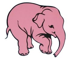 Simple elephant, but maybe a different color so that it doesn't seem like I'm copying the beer logo so much
