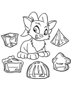 Bounce Castle Coloring Pages Coloring Pages