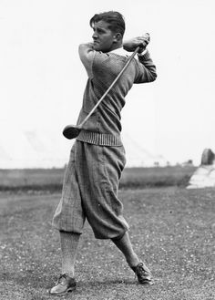 This dapper reinvention of athleisure:   14 Vintage Golfing Looks To Channel On And Off The Course