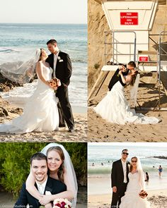 Tivoli Too wedding photo, Laguna Beach, Orange County wedding photographer, bride, groom, on the sand, http://GilmoreStudios.com
