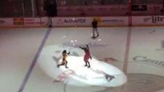 Un spectacle assez spécial durant l'entracte du match des Ducks d'Anaheim http://www.danslaction.com/fr/un-spectacle-assez-special-durant-lentracte-du-match-des-ducks-danaheim/