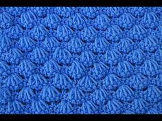 Punto conchitas para mantas y chambritas  muy fácil y rápido - YouTube