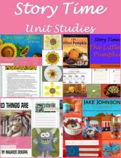 The Complete List of Story Time Unit Studies from Lit Mama Homeschool