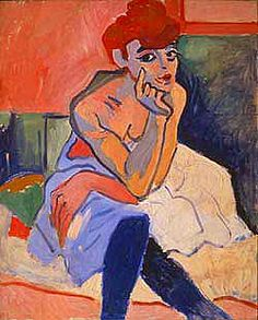 Andre Derain, Woman in a Chemise, 1906