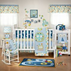 Lolli Living 4-Piece Crib Set (Baby Bot) - www.rightstart.com