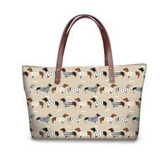 Designer Dachshund Bull dog DOG Handbag tote shopper bag- 8 variants to choose from! Dog Design, Large Dogs, I Love Dogs, Dachshund, Buy Now, Messenger Bag, Dog Lovers, 3d Printing, Handbags