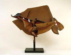 """UMBERTO BOCCIONI - """"Dynamisme d'un cheval à la course""""(1914-1915)  Gouache, huile, collage de papier , bois, carton  sur cuivre,  fer, étain et zinc (113 x 115)"""