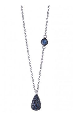 To Mom With Love | Visual Therapy | Shawn Warren sapphire necklace