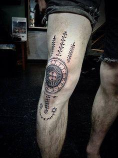 Design: evgenia samsonova, dubai tattooed by dan bones, brooklyn, new york city (image: traditional croatian tattoo) Unique Tattoos With Meaning, Symbol Tattoos With Meaning, Meaningful Tattoos For Men, Cute Tattoos For Women, Tattoos For Women Half Sleeve, Symbolic Tattoos, Tattoos For Guys, Baby Tattoos, Leg Tattoos