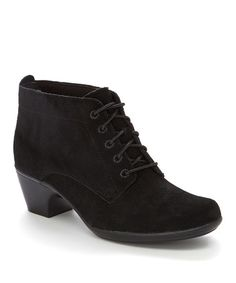 Loving this Black Ingalls Lace Q Boot on #zulily! #zulilyfinds