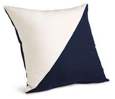 Maritime Outdoor Pillows   Pillows U0026 Rugs   Outdoor   Room U0026 Board