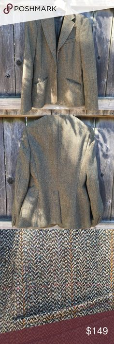 Ralph Lauren Tweed Blazer Perfect fall colors tweed blazer from Ralph Lauren Blue Label!  Beautiful details and made in Italy!  Only worn a handful of times and dry cleaned once - beautiful condition!  Very fitted waistline and nice shape!  See detail photos for colors - goes with so much!  Purchased for $598 in fall of 2013!  Ask me any questions! 💙 Ralph Lauren Jackets & Coats Blazers